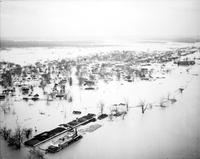 Floods; Illinois; Mound City. general views of floods
