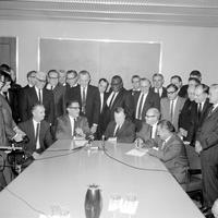 Labor Unions; Auto; UAW; Ford Motor Co. 1961 1964 1967; Negotiators.