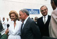 Sinatra, Frank; Singer. with wife and, at right, Lee Iacocca. Free lance photos.