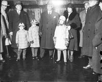 Rubio, Ortiz; Mexican President, 1930. - With his children.
