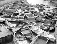 prohibition. boats. auction of seized boats. 3 negs.