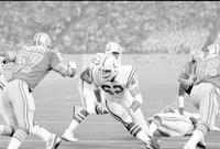 Football; Detroit Lions; Action; 1980. -Lions vs Baltimore Colts