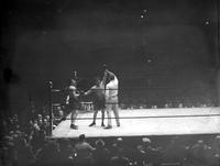 Boxing Matches. Kid Berg vs. Billy Wallace