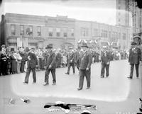 Grand Army of the Republic; Michigan. -Encampment Held at Mount Clemens. -Civil War Veterans Parade