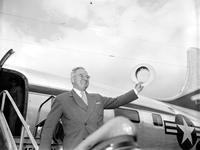 Detroit; History; 250th Birthday Parade; Parade; Pres. Truman; president; arrival and leaving.