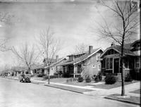 Streets; Indiana Avenue. North of Grand River Boulevard. - Residential Area