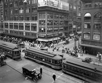 Streets; Woodward Avenue; At State Street