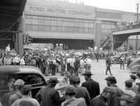 Ford Motor Co. ; Employees. Services. Strikes