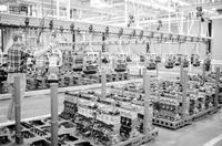 Chrysler Corporation; Plants; Trenton Engine Plant. After conversion from V-8 production to smaller engines.