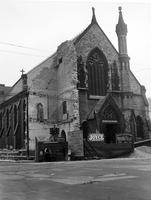 Churches; Episcopal: St. John's Episcopal. Detroit. Woodward at Vernor to be moved back for Woodward widening. .