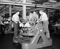Ford Motor Company. ; Plants; Rouge. Aero Engine Plant. Interior.