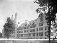 Colleges; Marygrove College; Detroit; New Buildings. with. Old Building at Monroe, former St. Mary's Academy. education. colleges. universities. schools. buildings. Detroit, Michigan. Marygrove College. - and St. Mary's Academy at. Monroe.