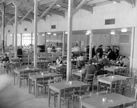 Ford Motor Co. ; Plants; Willow Run. Cafeteria for dormitories.