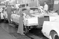 Ford Motor Co. ; Plants; Wixom; Assembly Line