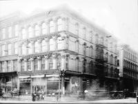 Old Detroit: Misc. - Downtown Business Corner (unidentified). - (copy)