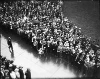 Crowds: City Hall: Miscellaneous. - Murphy Inauguration, 1931
