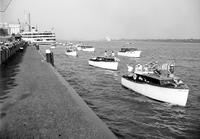 Detroit; History; 250th Birthday; Boats on Detroit River