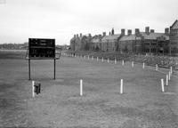 Schools; Central . Showing football field