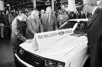Ford Motor Co. ; Models; 150 Millionth Car Produced