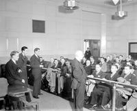Labor; National Labor Relations Board. -Being Instructed on Packard Union Vote