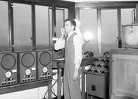 Aero; Airports; Detroit City Airport. Control Room Tower; Arthur Watters