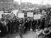 Communists; Hunger March to Pontiac, Michigan