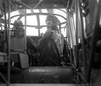 Great Britain; Aero; Aviators. C. M. Bowie operates the wireless