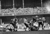 Football; Detroit Lions; Action. Lions vs. Chicago Bears