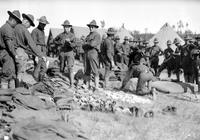 Wars; World; 1; Army; Camp Scenes. -Field Inspection