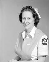 Wars; World; 2; Uniforms; Volunteers; Women. -Mrs. Frank H. Patterson. -Red Cross Staff Assistance Corps