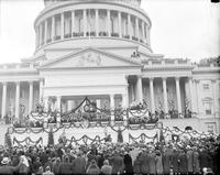 District of Columbia; Washington; Inauguration of President Roosevelt; Crowds