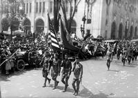 Wars; World; # 1; Parades; Red Arrow; 32nd Division. -Homecoming Scenes