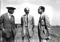 Ford, Henry; with Wm. Mayo & Edsel Ford. Aero. June 1927