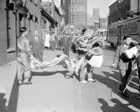 Foreign Colonies; Chinese. Dragon Dance