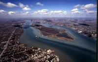 Belle Isle; Aerial Views; Entire Island
