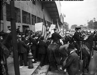 Picketing; Briggs Stadium. Detroit