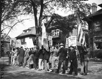 Picketing; Detroit.