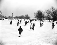 Winter Sports; Skating; Belle Isle 1957-58.