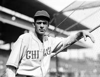 Galan, August J. ; Baseball; Chicago Cubs. Portrait.