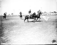 Polo; Action; Army vs. Freebooters; 1930.