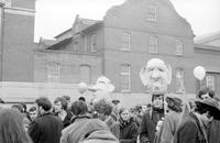 Hippies; Washington D. C. -Prior to Inauguration of President Nixon