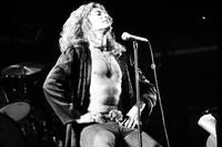 Led Zeppelin. British rock band at Pontiac Silverdome. crowd of 80,000