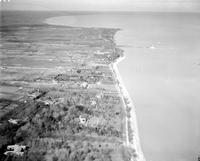 Michigan; Cities; Grosse Pointe. Showing Lake & Lake Shore Drive.