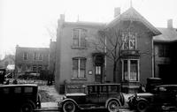 old Detroit. residences. Robert Hopkins onFirst Street.