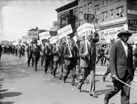 prohibition; beer parade.