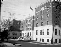 Providence Hospital. Old nurses home. Date is Oct. 1927