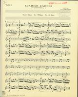 Spanish Dances, Op. 12, Numbers 1,3, and 4. Violin 1 Stand 6
