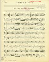 Spanish Dances, Op. 12, Numbers 1,3, and 4. Violin 1 Stand 2