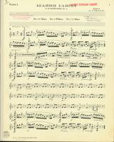 Spanish Dances, Op. 12, Numbers 1,3, and 4. Violin 1 Stand 3