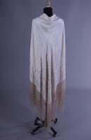 Large Ivory Shawl